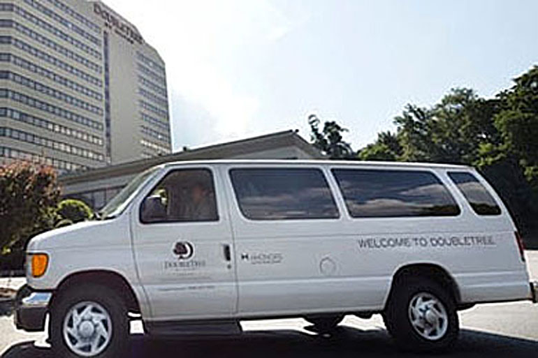 Hotel Shuttle Van