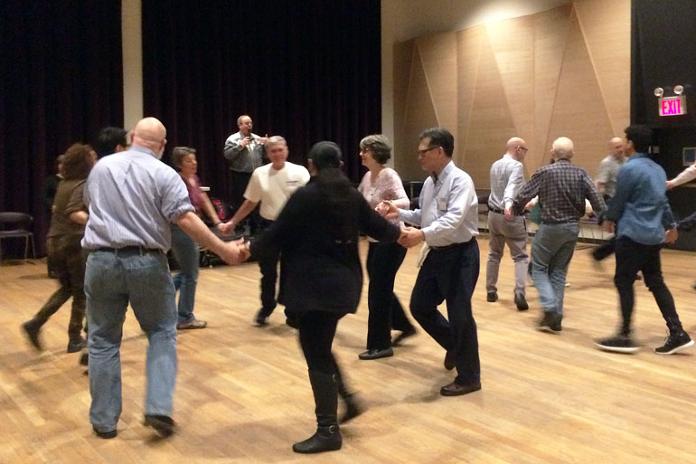 Square Dancing at the Center