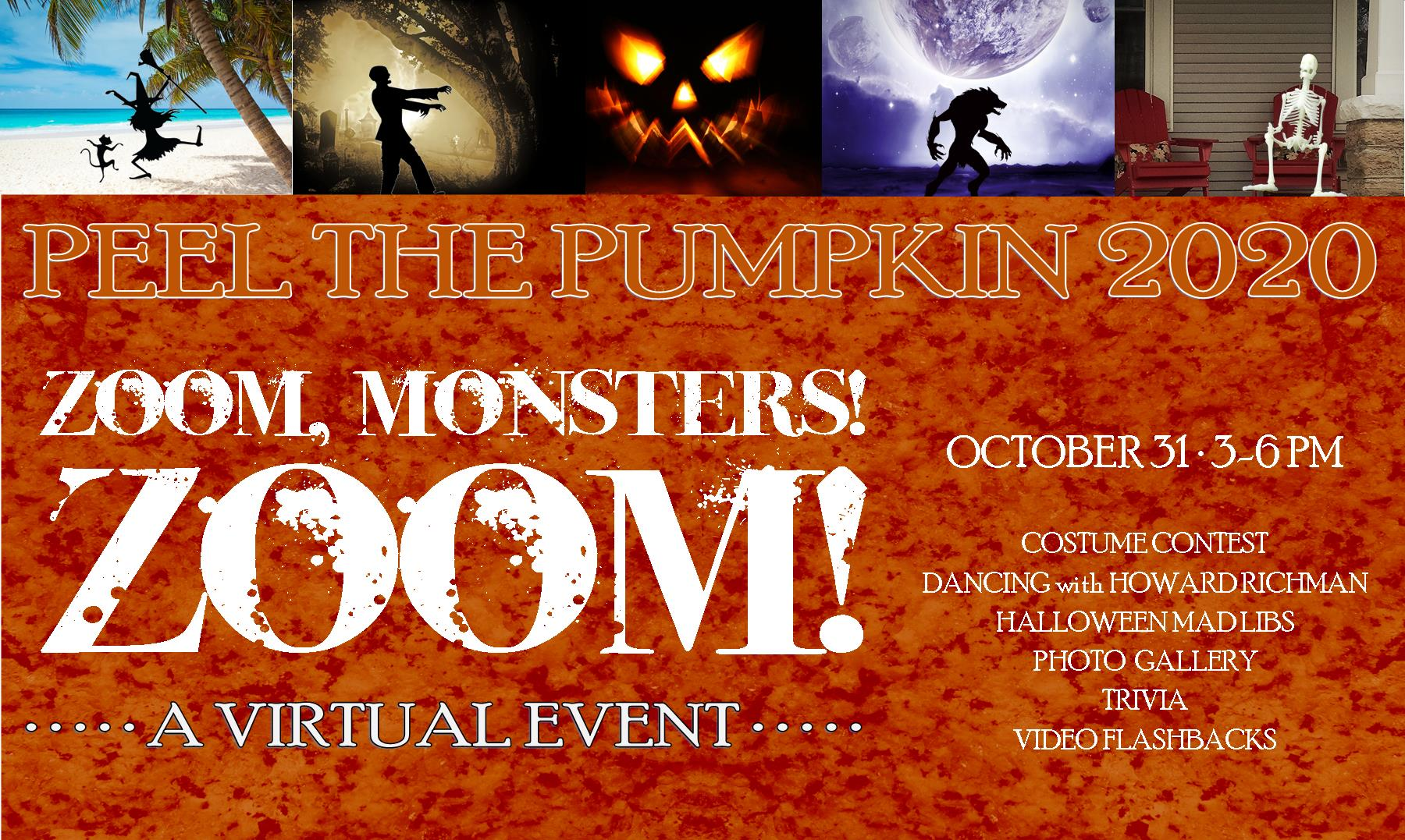 Come Join Us for a Virtual Peel the Pumpkin
